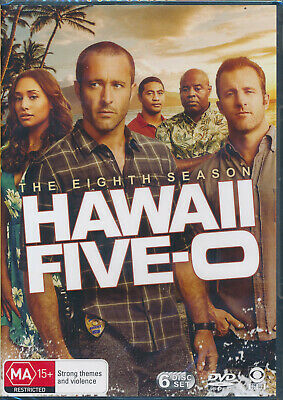 Hawaii 5-O Five O Eighth Season 8 DVD NEW Region 4