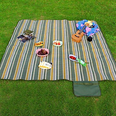 Manta Picnic Impermeable 200 x 200cm Alfombra Camping Playa Impermeable