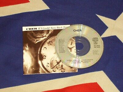 """CHER - if i could turn back time    3""""   MAXI CD 1989"""