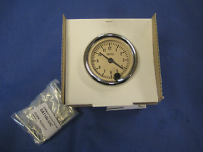 MG  CREAM FACE BGT MGB or MIDGET SMITHS 52MM TIME CLOCK CLASSIC CAR KIT MAGNOLIA