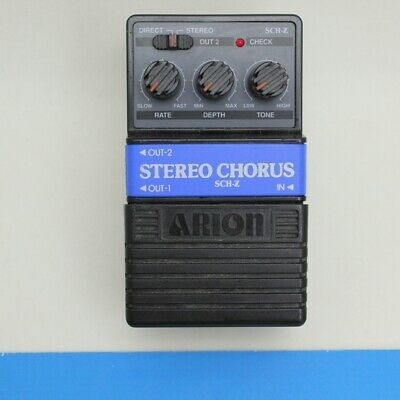 ARION SCH-Z STEREO CHORUS Very good condition Analog effect pedal F/S (SL160564)
