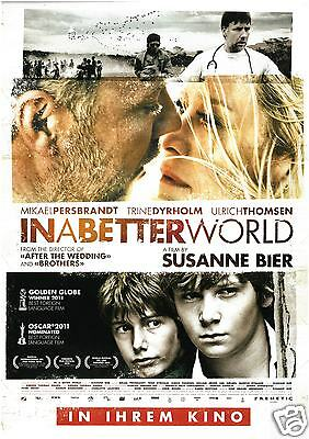 In A Better World - 2010 - Mikael Persbrandt - Trined Dyrholm - Filmposter A4