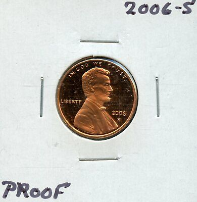 2006-S 1c Proof United States Lincoln Memorial Cent BF948