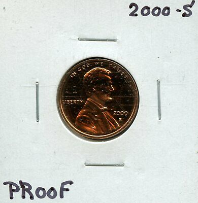 2000-S 1c Proof United States Lincoln Memorial Cent BF983