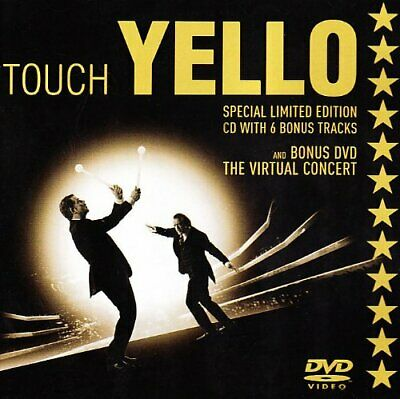 Yello - Touch Yello -CD+DVD- - Yello CD IWVG The Fast Free Shipping