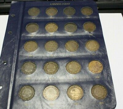 Canada Large Cents 1902 to 1920 included 1907H