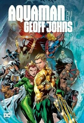 Aquaman by Geoff Johns Omnibus, Hardcover by Johns, Geoff; Bedard, Tony; Reis...