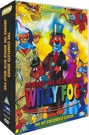 Around The World With Willy Fog - The Complete Collection [DVD], New, DVD, FREE