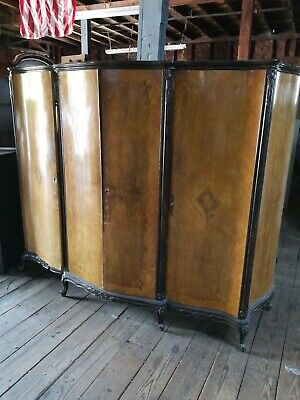 Vintage 1930's 1940's Armoire - Needs Reconditioning
