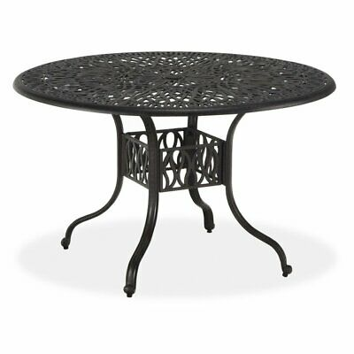Home Styles Floral Blossom Round Patio Dining Table