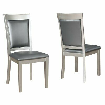 Outstanding Roundhill Furniture Biony Nailhead Trim Upholstered Dining Andrewgaddart Wooden Chair Designs For Living Room Andrewgaddartcom
