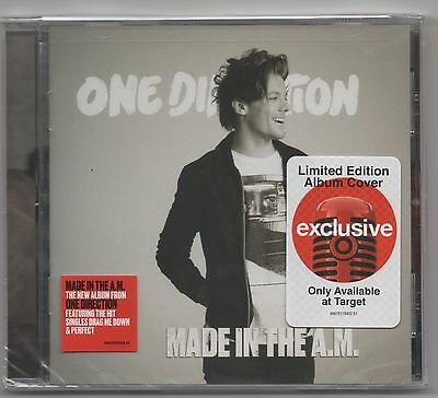 One Direction Made IN The A.m. Target Exclusive Louis Tomlinson Funda Obra CD