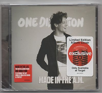 One Direction Made IN The A.m. Cible Exclusive Louis Tomlinson Housse Oeuvre CD