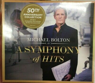Michael Bolton A Symphony of Hits 2019 CD When A Man Loves A Woman