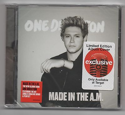 One Direction Made IN The A.m. Cible CD Niall Horan Exclusif Housse