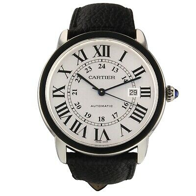 Cartier Ronde Solo Steel Automatic 42 mm Watch WSRN0022 Complete 2019