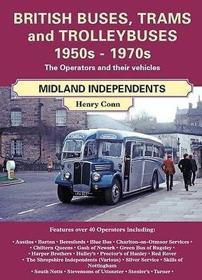 British Buses and Trolleybuses 1950s-1970s, Paperback by Conn, Henry, ISBN 18...