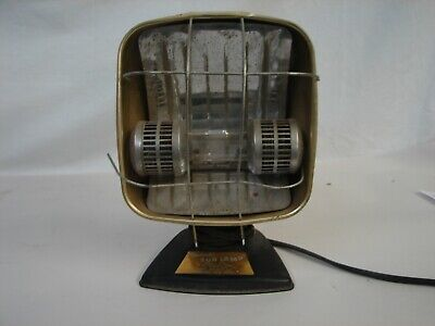 Vintage Sun Lamp By Sperti Table Model P-108 Uv Tan Tested Working