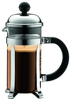 Bodum Chambord Press Coffee Maker (Silver) - 350mL 3 Cup / 350mL Free Shipping!