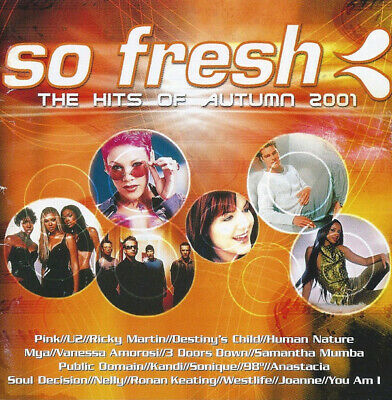 So Fresh - Hits Of Autumn 2001 - Cd Used - Various - Rock & Pop Music Used UD021