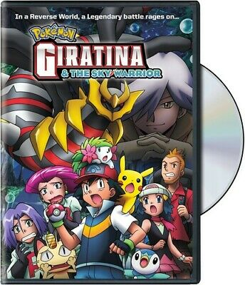 Pokemon The Movie: Giratina & The Sky Wa Dvd - Pokemon The Movie: Giratina & The