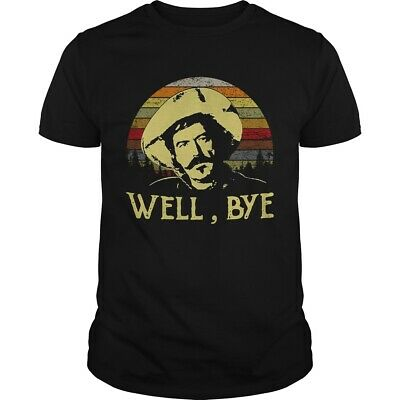 Curly Bill Brocius Tombstone Well Bye Retro T-shirts Tee US cotton trend 2019