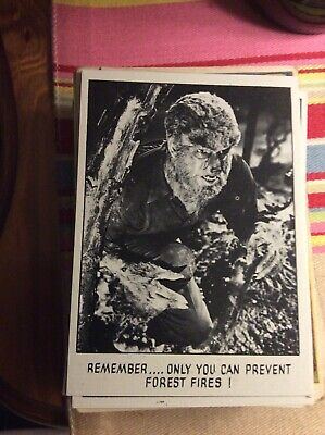 B6c Trade Card Topps USA You'll Die Laughing Creature Feature No 33