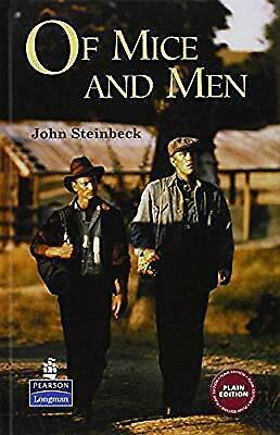 Of Mice and Men (New Longman Literature - Plain Edition), Steinbeck, J., Used; G