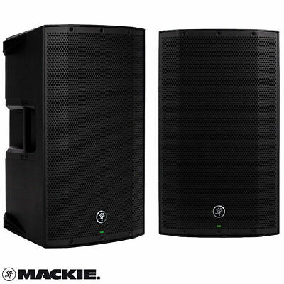 """2X Mackie Thump 12A Active 12 inch V2 1300W Powered Speakers 12"""" Active Box"""