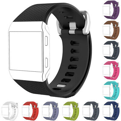Fashion Lightweight Sport Silicone Wrist Bracelet Band Strap for Fitbit Ionic BG