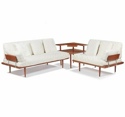 Mid Century Modern Danish Sofa Set Sectional