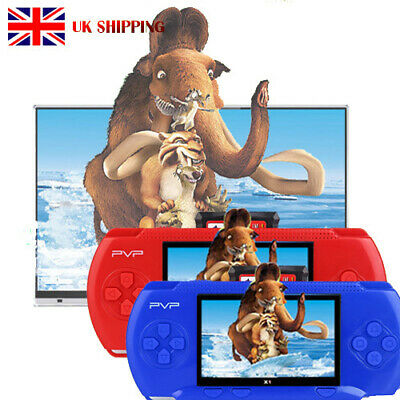 UK PVP3000 Portable Handheld Digital Pocket Game Console Classic Games+Game Card