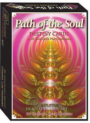 Path of the Soul Destiny Cards: Intuitive Fractal Energy Art by Cheryl Lee Harni