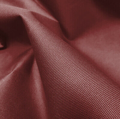 Maroon Heavy Duty Thick Waterproof Canvas Fabric Outdoor Cover Sold By Metre