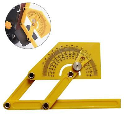 180 Degree Angle Protractor Tool Finder Miter Gauge Arm Measuring Ruler Measure
