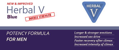 30 BLUE SEX AIDS Herbal V+ Double Strength Strongest Available Best One!!!