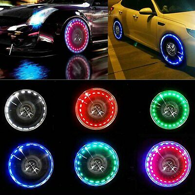 15 Mode Solar Energy Auto Flash LED Car Wheel Hub Tire Tyre Valve Cap Light Lamp