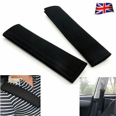 2ps Car Auto Seat Belt Cover Harness Safety Shoulder Strap Pad Back Pack Cushion