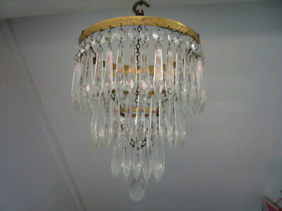 Vintage French Waterfall Chandelier