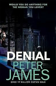 Denial, Paperback by James, Peter, Like New Used, Free P&P in the UK