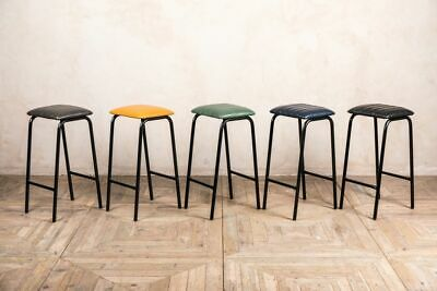 Faux Leather Bar Stools Four Colours Breakfast Bar Stools Bar Seating