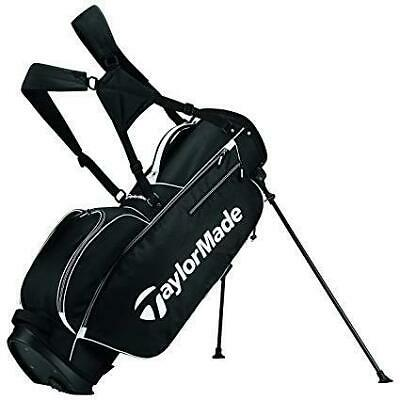 TaylorMade 5.0 Stand Golf Club Bag - TM17 - Black/White     New! Free Shipping!