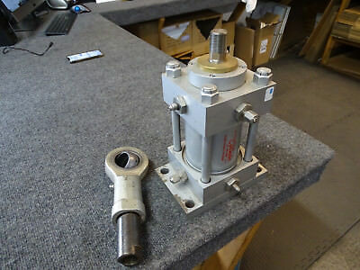 """Milwaukee Cylinder B-15624 Bore 3.25"""" Stroke 3.00"""" Max 1500psi w attachment End"""