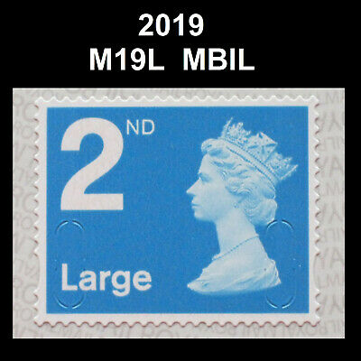 2019 - 2nd Large - M19L - MBIL Single Stamp from Business Sheet on SBP2u Paper