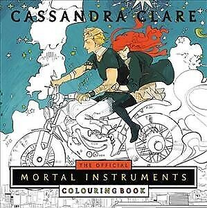Official Mortal Instruments Colouring Book, Paperback by Clare, Cassandra; Je...
