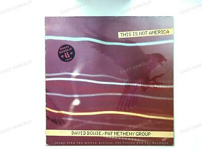 David Bowie / Pat Metheny Group - This Is Not America Europe Maxi 1985 .