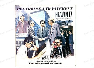 Heaven 17 - Penthouse And Pavement GER LP 1981 .