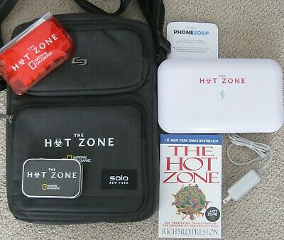 The Hot Zone National Geographic Promo Solo Tablet Sling Book Tin Phonesoap +