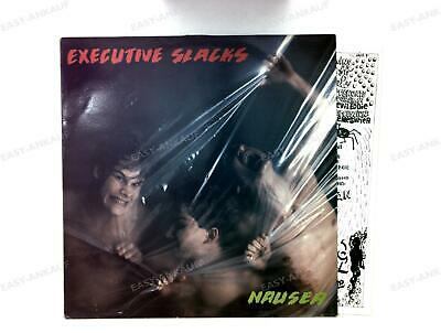 Executive Slacks - Nausea NL LP 1985 + Insert .