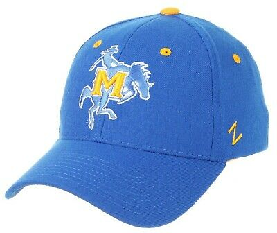 san francisco a393c 84f12 Mcneese State Cowboys Zephyr Zhs Blue Flex Fit Fitted Hat Cap New M L